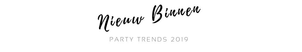 Nieuwe trends feestversiering 2019 PretaPret