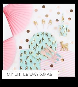 Christmas Kerstversiering Kerst decoratie Kerstfeest Feestartikelen van het merk My Little Day, hip, stylish & trendy