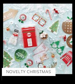 Novelty Christmas Kerstversiering Kerst decoratie Kerstfeest Feestartikelen van het merk Ginger Ray, hip, stylish & trendy