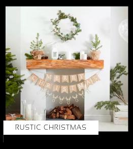 Rustic Christmas Kerstversiering Kerst decoratie Kerstfeest Feestartikelen van het merk Ginger Ray, hip, stylish & trendy