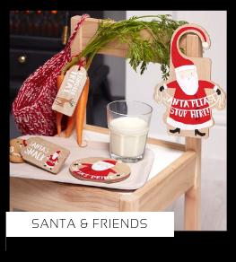 Santa & Friends Christmas Kerstversiering Kerst decoratie Kerstfeest Feestartikelen van het merk Ginger Rayn, hip, stylish & trendy