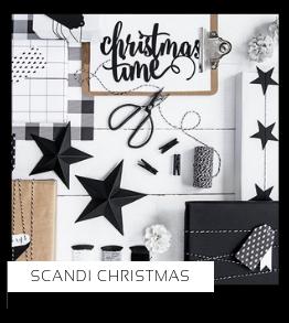Scandi Christmas Kerstversiering Kerst decoratie Kerstfeest Feestartikelen van het merk PartyDeco, hip, stylish & trendy