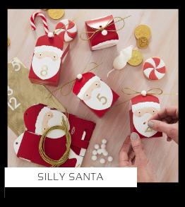 Silly Santa Kerstversiering Kerst decoratie Kerstfeest Feestartikelen van het merk Ginger Ray online kopen, hip, stylish & trendy