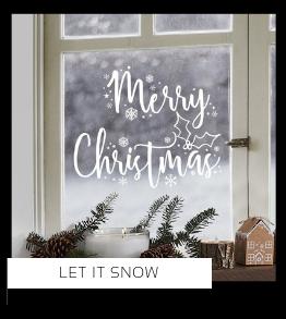 Let it snow Christmas Kerstversiering Kerst decoratie Kerstfeest Feestartikelen van het merk Ginger Ray, hip, stylish & trendy