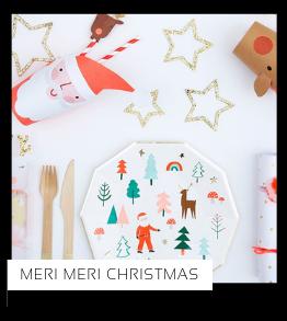 Christmas Kerstversiering Kerst decoratie Kerstfeest Feestartikelen van het merk Meri Meri, hip, stylish & trendy