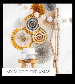 Christmas Kerstversiering Kerst decoratie Kerstfeest Feestartikelen van het merk My Mind's Eye, hip, stylish & trendy