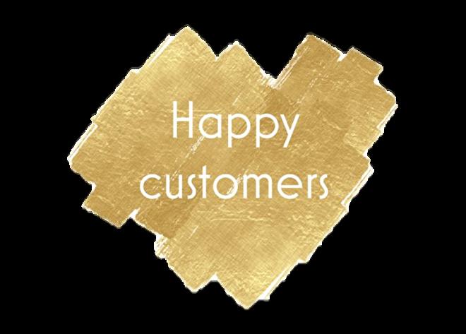 Happy Customer Klanten Loting Actie Korting