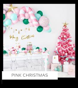 Pink Christmas Kerstversiering Kerst decoratie Kerstfeest Feestartikelen van het merk PartyDeco Poland kopen, hip, stylish & trendy
