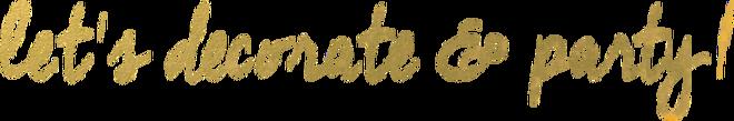 Trendy en Stylish Feestartikelen Versieringen Decoraties Goedkoop Online Kopen PretaPret voor een Verjaardag, Bruiloft, Kinderfeest, Babyshower, Geboortefeest