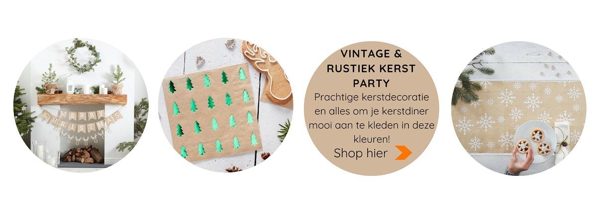 Kerst stylish & trendy Feestartikelen online kopen voor een hip kerstdiner