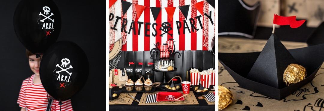 Pirates Piraten Kinderfeestje Feestartikelen en Feestversieringen kopen bij PretaPret hip en trendy
