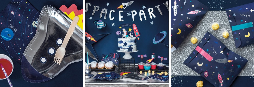 Space Ruimtevaart Kinderfeestje Feestartikelen en Feestversieringen kopen bij PretaPret hip & trendy