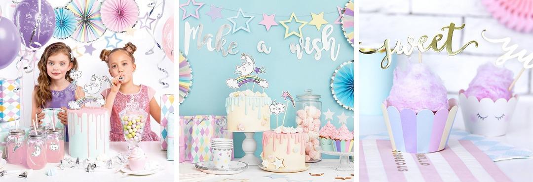 Make a Wish Kinderfeestje Feestartikelen en Feestversieringen kopen bij PretaPret hip en trendy