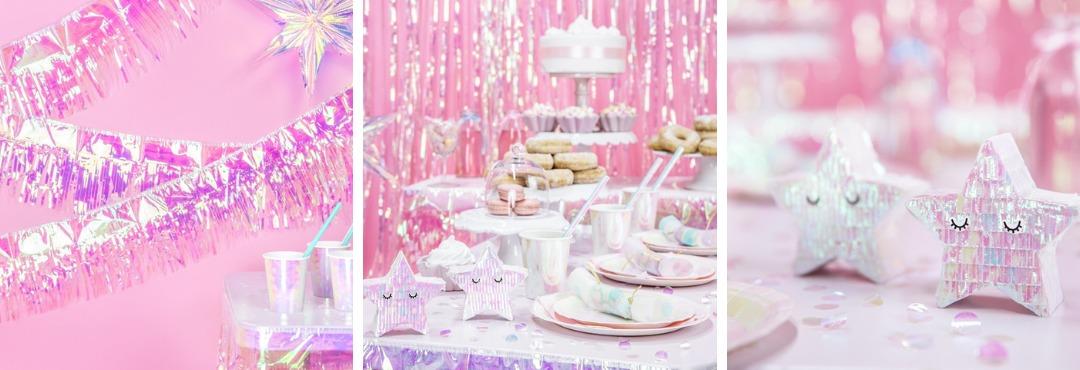 Iridescent Iriserende Party feestartikelen voor een Kinderfeestje kopen bij PretaPret