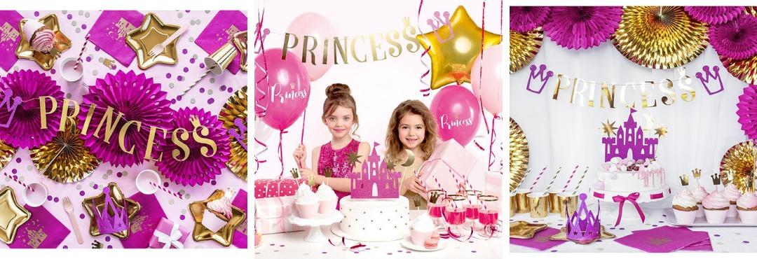 Princess Kinderfeestje Meisjes Prinsessen Verjaardag Feestartikelen Kopen bij PretaPret