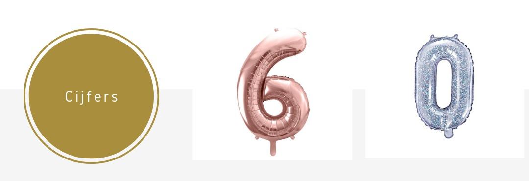 Folieballonnen Cijfers Nummers feestversieringen kopen bij PretaPret altijd hip en trendy