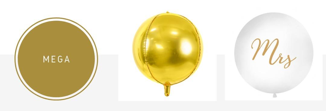 Folieballonnen MEGA Large feestversieringen kopen bij PretaPret altijd hip en trendy