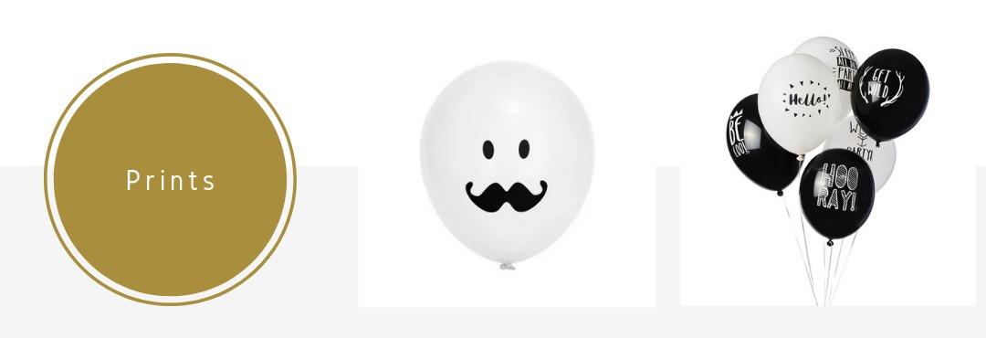 Bedrukte Prints Latex Ballonnen online Kopen verjaardag Feest Bruiloft Geboorte Babyshower