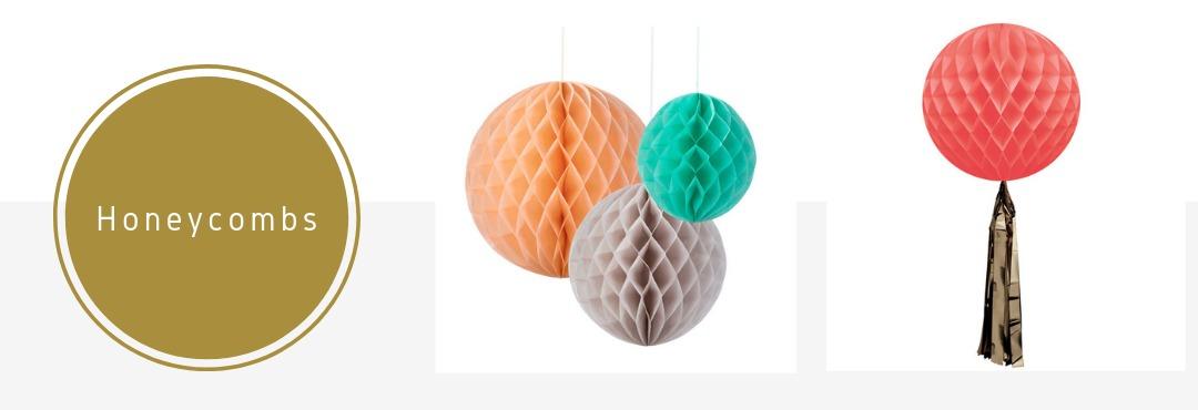 Honeycombs Slingers Decoraties Versieringen Feestartikelen Bruiloft Babyshower Verjaardag Kopen