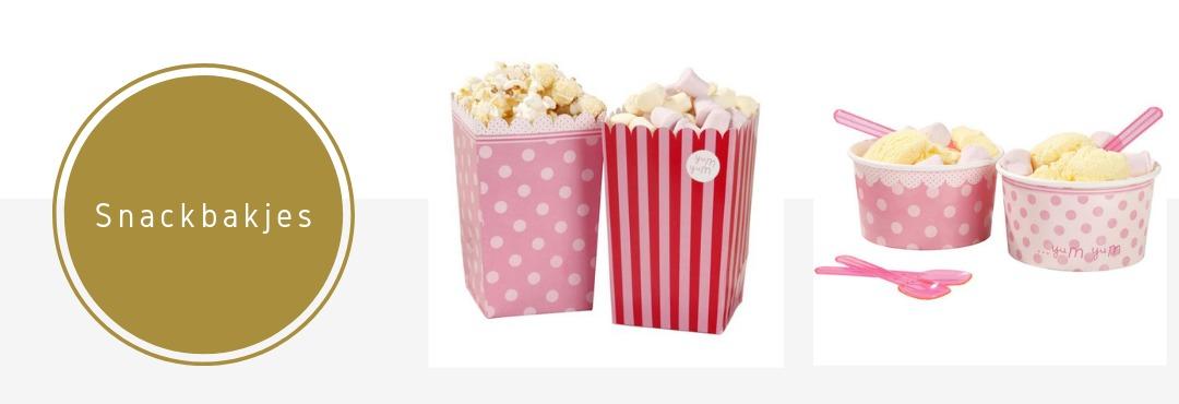 Snackbakjes Snoepbakjes Popcornbakjes Feestartikelen Verjaardag Decoraties Kopen
