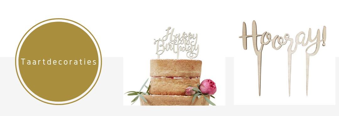 Taartdecoraties Cupcake Toppers Versieringen Verjaardag Bruiloft Babyshower Kinderfeestje Kopen