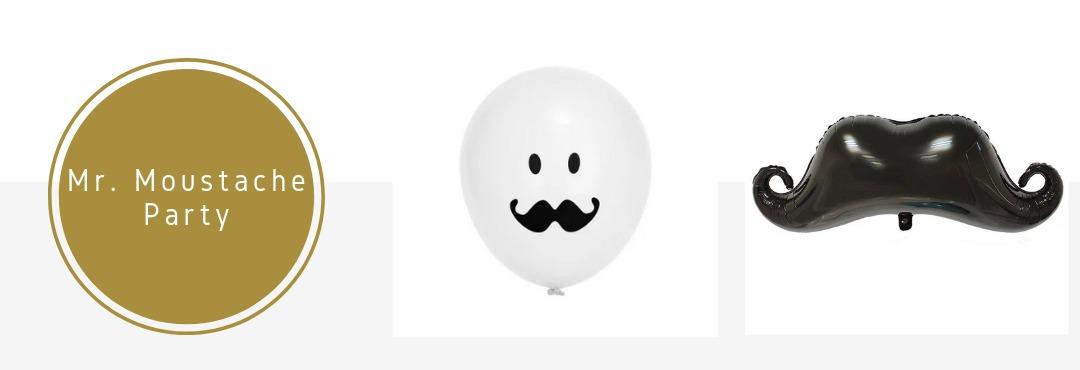 Mr Moustache Snorren Feestartikelen Versieringen Babyshower Verjaardag Decoraties Kopen