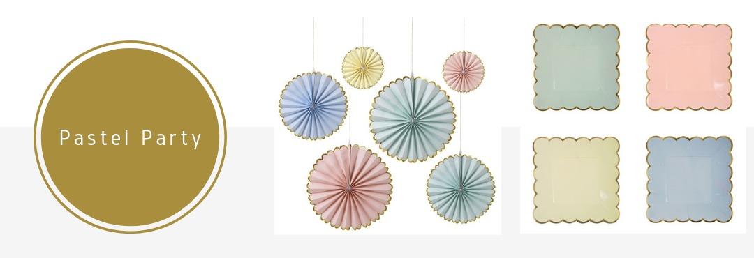 Pastel Kleur Feestartikelen Versieringen Decoraties Online Kopen Verjaardag Bruiloft Babyshower