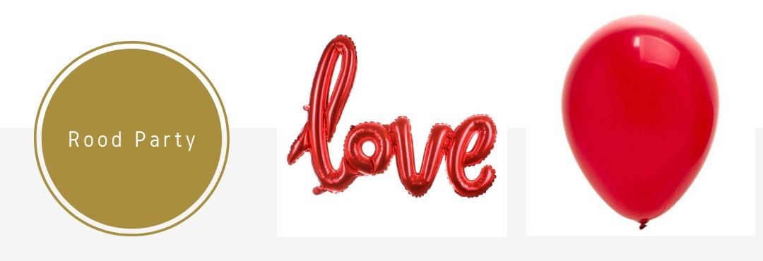 Rood Kleur Feestartikelen Versieringen Decoraties Online Kopen Verjaardag Bruiloft Babyshower