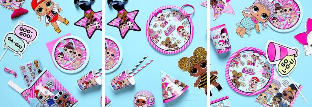 L.O.L Surprise! Feestartikelen en feestversieringen voor Kinderfeestje Meisjes Verjaardag kopen
