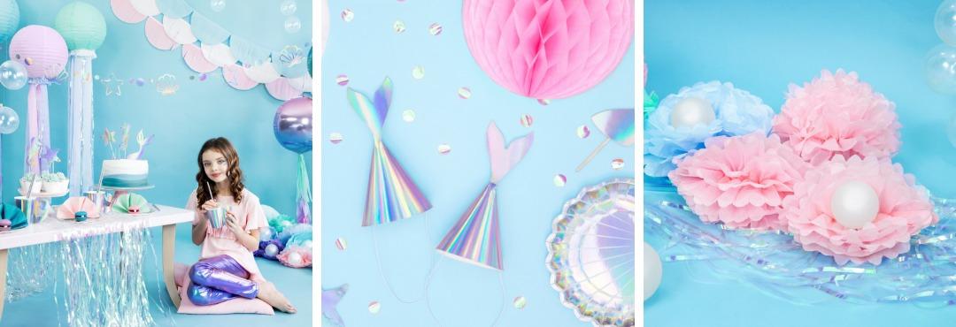 Mermaids Zeemeerminnen collectie feestartikelen en feest decoratie voor een hip thema Kinderfeestje