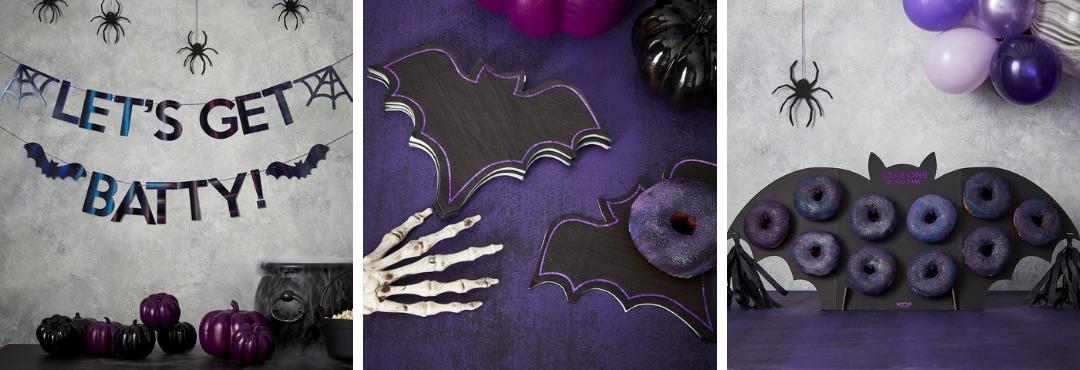 Let's Get Batty Halloween decoratie en feestartikelen voor een hip thema feestje