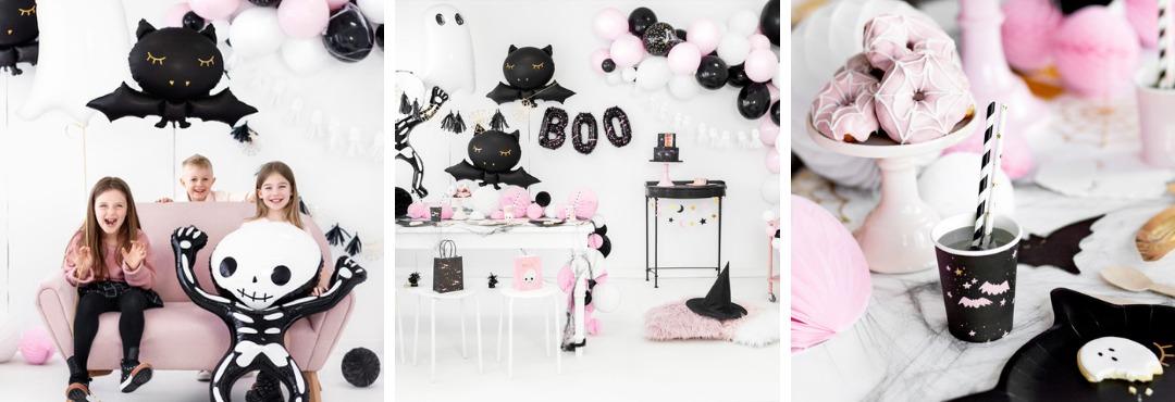 Pink Halloween decoratie Griezelig maar leuk feestartikelen voor een hip Kinderfeestje