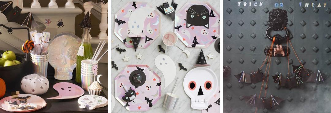 Meri Meri Halloween decoratie en feestartikelen voor een hip thema feestje