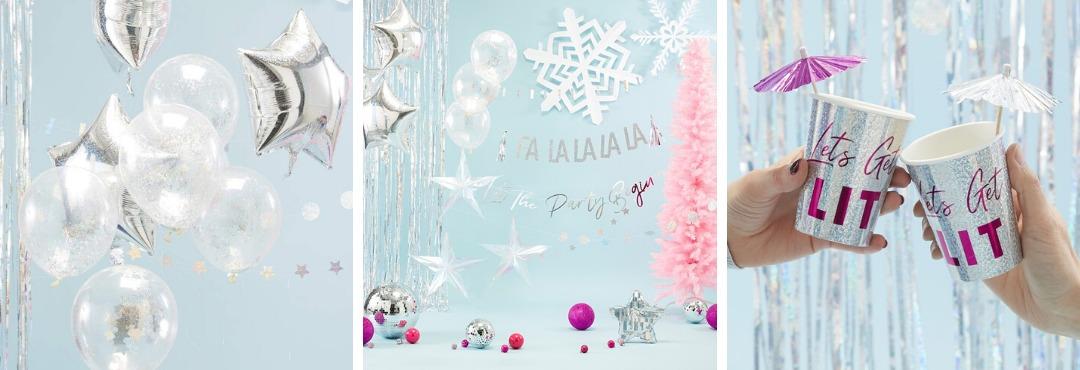 Jolly Vibes Kerstversiering en Kerst decoratie van Ginger Ray je vindt het hier bij PretaPret