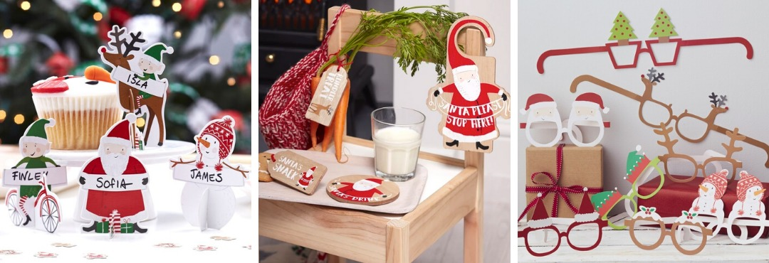 Santa & Friends Kerstversiering en Kerst decoratie van Ginger Ray je vindt het hier bij PretaPret
