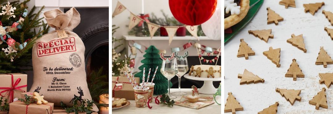 Vintage Noel Kerstversiering en Kerst decoratie van Ginger Ray je vindt het hier bij PretaPret