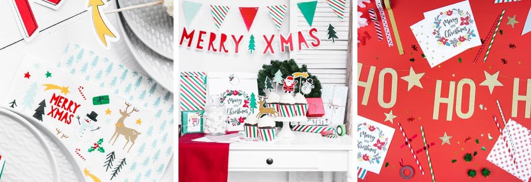Merry Xmas Kerstversiering en Kerst decoratie van Partdeco Poland je vindt het hier bij PretaPret