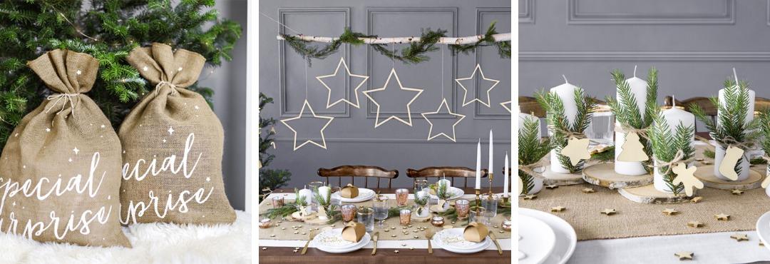 Natural Christmas Kerstversiering en Kerst decoratie van Partydeco je vindt het hier bij PretaPret