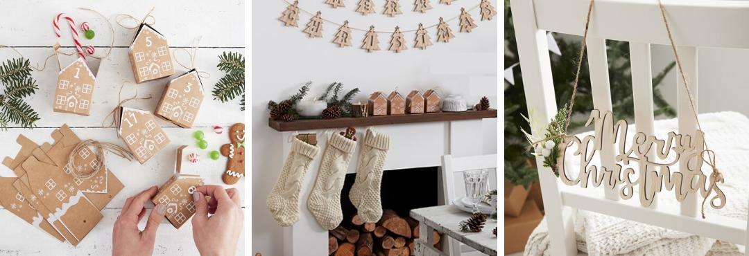 Let it Snow Kerstversiering en Kerst decoratie van Ginger Ray je vindt het hier bij PretaPret