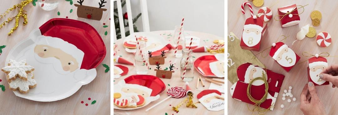 Silly Santa Kerstversiering en Kerst decoratie van Ginger Ray je vindt het hier bij PretaPret