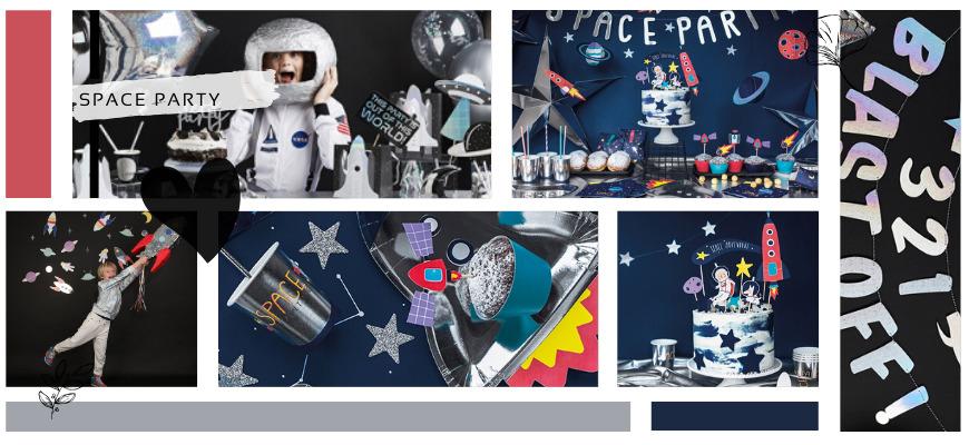 Space Ruimtevaart Kinderfeestje Feestartikelen en Feestversiering kopen bij PretaPret hip & trendy
