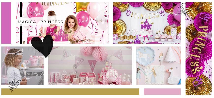 Princess Kinderfeestje Meisjes Prinsessen Verjaardag versiering feestartikelen kopen bij PretaPret