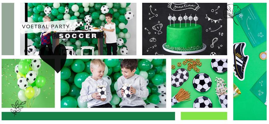 Voetbal Kinderfeestje versiering Feestartikelen Feestversiering bij PretaPret altijd hip en trendy