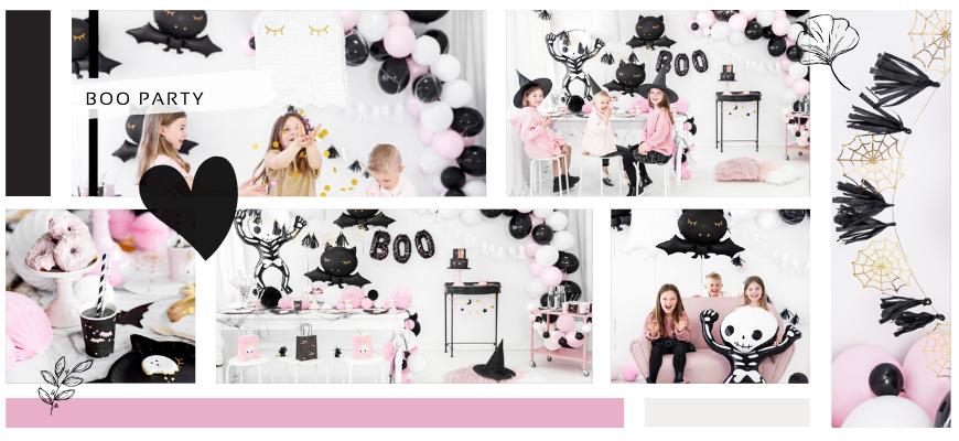 Pink Halloween Griezelig maar leuk feestartikelen en decoraties voor een hip Kinderfeestje