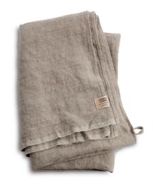 Linnen badhanddoek 90x150cm naturel beige