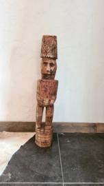 Houten Bali beeld model 7