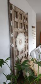 Touwslinger met witte schelp 300cm
