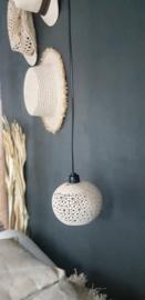 Kokos hanglampje licht naturel