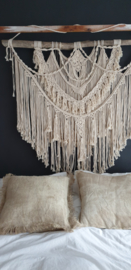 Macramé XL wandkleed