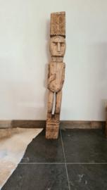Houten Bali beeld model 16